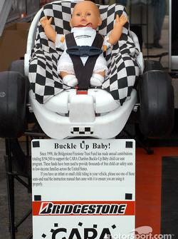 CARA charities Buckle up Baby program