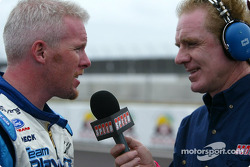 Paul Tracy and Derek Daly