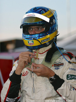Sébastien Bourdais gets ready