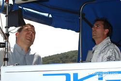 Mauricio Gugelmin and Bryan Herta