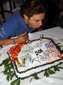 Rodolfo Lavin celebrates birthday