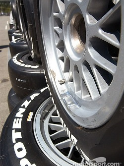 Rows and rows of Bridgestone Potenzas
