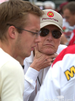 Paul Newman and Sébastien Bourdais