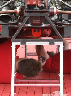 PKV Racing crew members at work