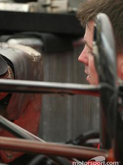 PKV Racing crew member at work