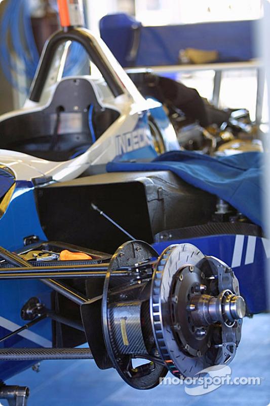 Le paddock du Forsythe Championship Racing