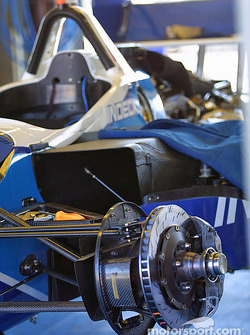 Forsythe Championship Racing paddock area