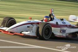 Gaston Mazzacane exits pit lane