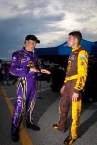 Matt Kenseth, Roush Fenway Racing Ford and David Ragan, Roush Fenway Racing Ford