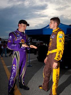 Matt Kenseth, Roush Fenway Racing Ford et David Ragan, Roush Fenway Racing Ford