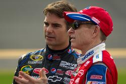 Mark Martin, Hendrick Motorsports Chevrolet et Jeff Gordon, Hendrick Motorsports Chevrolet