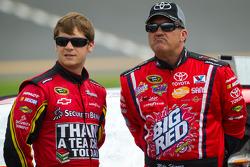 Landon Cassill, Chevrolet and Mike Skinner, Hillmann Toyota