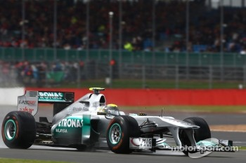 Best of the rest Nico Rosberg, Mercedes GP