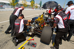 Alex Tagliani, Sam Schmidt Motorsports back in the pits with damage