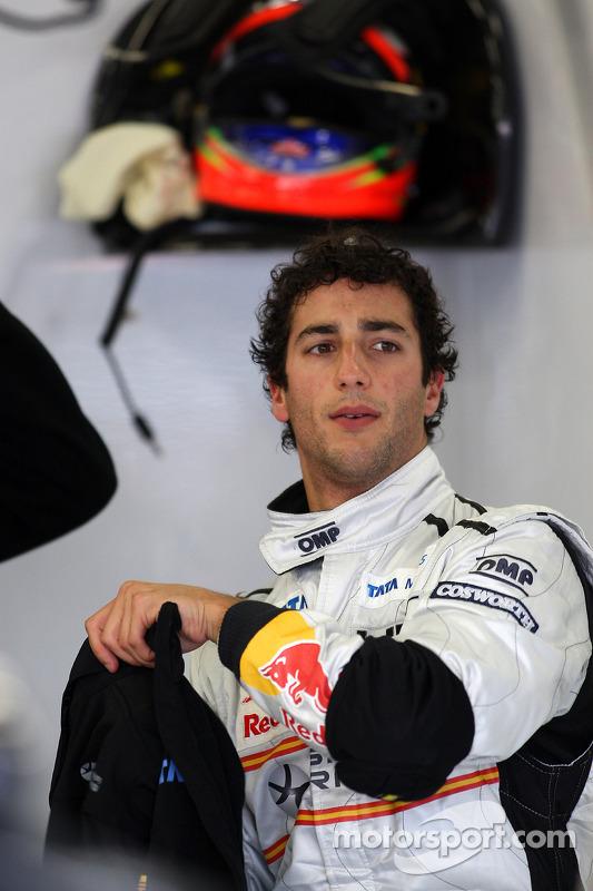 Daniel Ricciardo, Scuderia Toro Rosso, Testfahrer