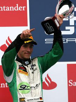 Podium: second place Christian Vietoris, Racing Engineering