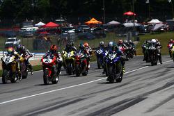 Samedi, course 1 Sportbike à Daytona