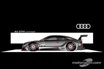 Audi presents the A5 DTM Concept Car drawings
