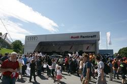 Audi fan area