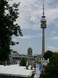 View to Paddock and TV-Tower