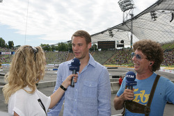 Manuel Neuer Goalkeeper FC Bayern Munchen, Guest of Audi with Christina Surer and Atze Schroder
