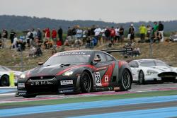 JR Motorsport Nissan GT-R : Michael Krumm, Lucas Luhr