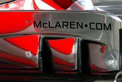 McLaren Mercedes, Technical detail, front wing