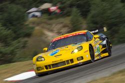 Olivier Beretta and Tommy Milner, Chevrolet Corvette C6 ZR1