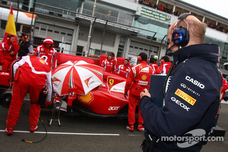 Adrian Newey, Red Bull Racing, Teknik Direktörü