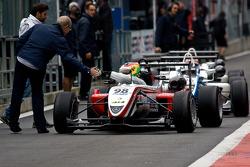 Roberto Merhi is the overall winner race three