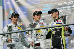 Invitational class winnaar Daniel Juncadella, 2de Hannes van Asseldonk, 3de Marco Wittmann