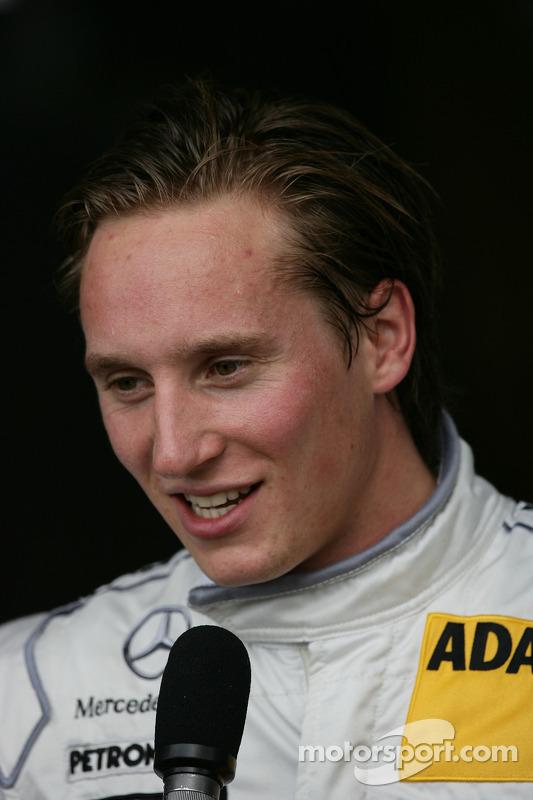 Renger van der Zande, Persson Motorsport, AMG Mercedes C-Klasse 2008