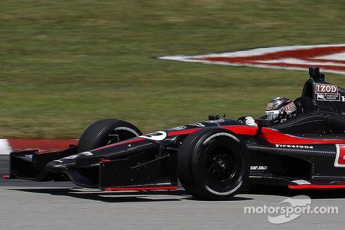 2012 IndyCar August test