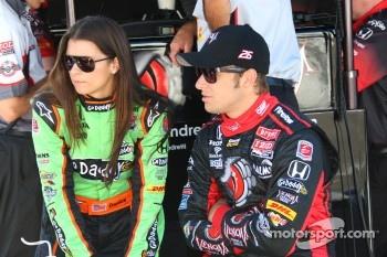 Danica Patrick, Andretti Autosport and Marco Andretti, Andretti Autosport