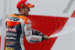 Podium: second place Andrea Dovizioso, Repsol Honda Team
