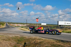 David Coulthard, Red Bull F1 Car, Circuit, Americas construction