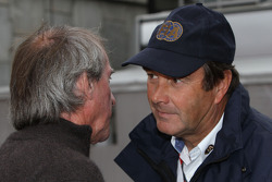 Jacques Laffite ve Nigel Mansell