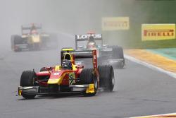Christian Vietoris leads Jules Bianchi;Romain Grosjean