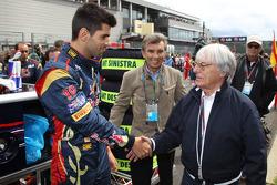 Jaime Alguersuari, Scuderia Toro Rosso and Bernie Ecclestone