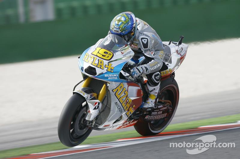 Rizla Suzuki - Álvaro Bautista - GP de San Marino 2011