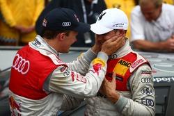 Mattias Ekström, Audi Sport Team Abt and Edoardo Mortara, Audi Sport Team Rosberg
