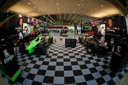 Andretti Autosport paddock