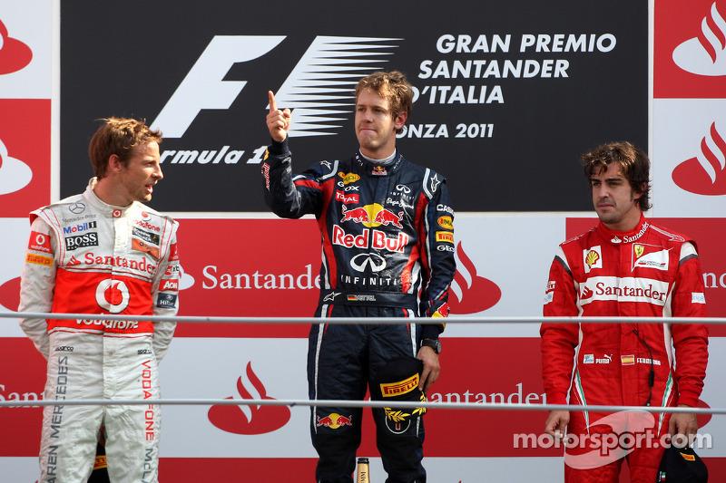 2011: Sebastian Vettel, de Red Bull Racing