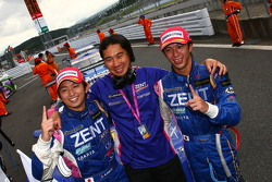 GT500 Winner: #38 Zent Cerumo SC430: Yuji Tachikawa, Kohei Hirate