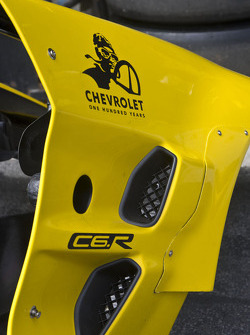 Chevrolet One Hundred Years: Detail of #4 Corvette Racing Chevrolet Corvette C6 ZR1: Oliver Gavin, Jan Magnussen