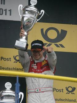 3rd Edoardo Mortara, Audi Sport Team Rosberg, Audi A4 DTM