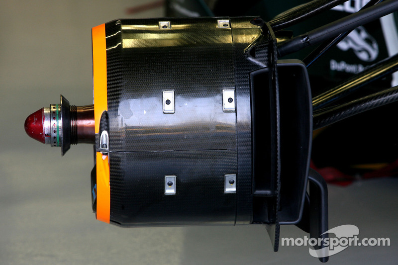 Team Lotus Technical detail brake system