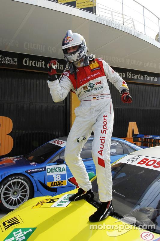 Podium: 3de en kampioen Martin Tomczyk (Audi Sport Team Phoenix / Schaeffler Audi A4 DTM (2008))