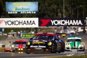 #23 Alex Job Racing Porsche 911 GT3 Cup: Bill Sweedler, Leh Keen, Brian Wong