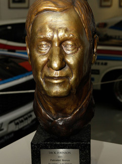 Dick Johnson being added to the Museum's Hall of Champions